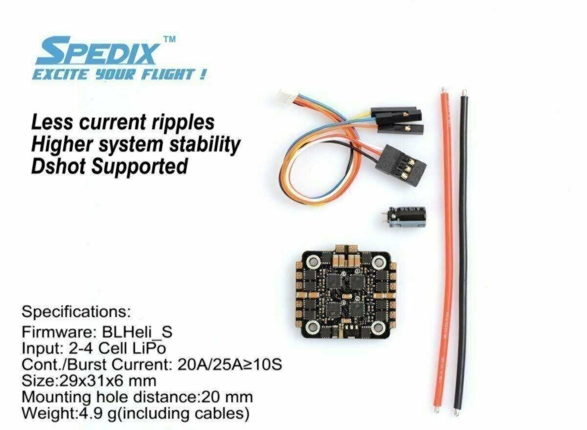 Spedix IS20 4-in-1 ESC