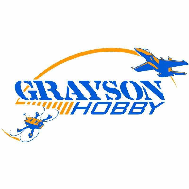 GraysonHobby.com Black 4 inch Vinyl Graphic